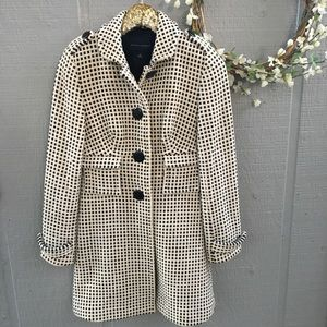 Banana Republic button down pea coat. Size small.